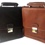 Real Cow Leather Messenger Bag.